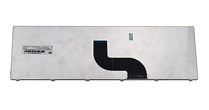 Janri - Teclado de Repuesto para Ordenador portátil Packard Bell EasyNote EN TE69BM TE69BMP LE69KB TE69CX