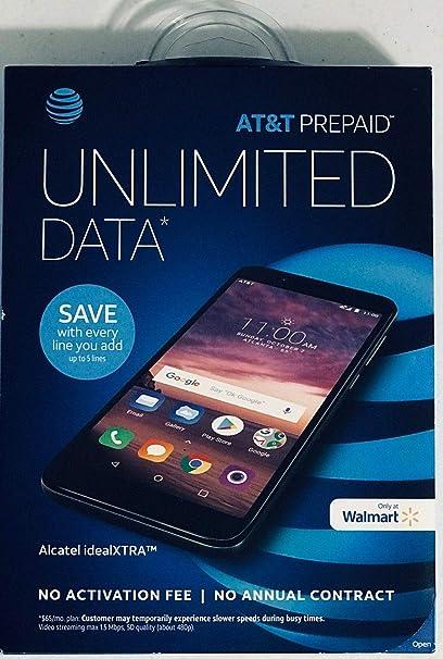 Alcatel idealXTRA 16 GB AT&T prepago Paygo sin Contrato Smartphone ...