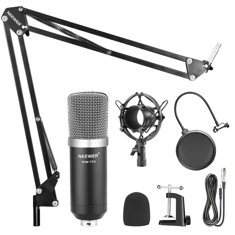 Neewer 2 Pack Nw-35 Mikrofon Suspension Boom Scissor Arm Metall Steht Schwarz Für Kondensator Mikrofon Heimelektronik Zubehör Unterhaltungselektronik