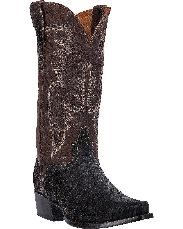 El Dorado Men's Caiman Cowboy Boot Snip Toe - Ed2301