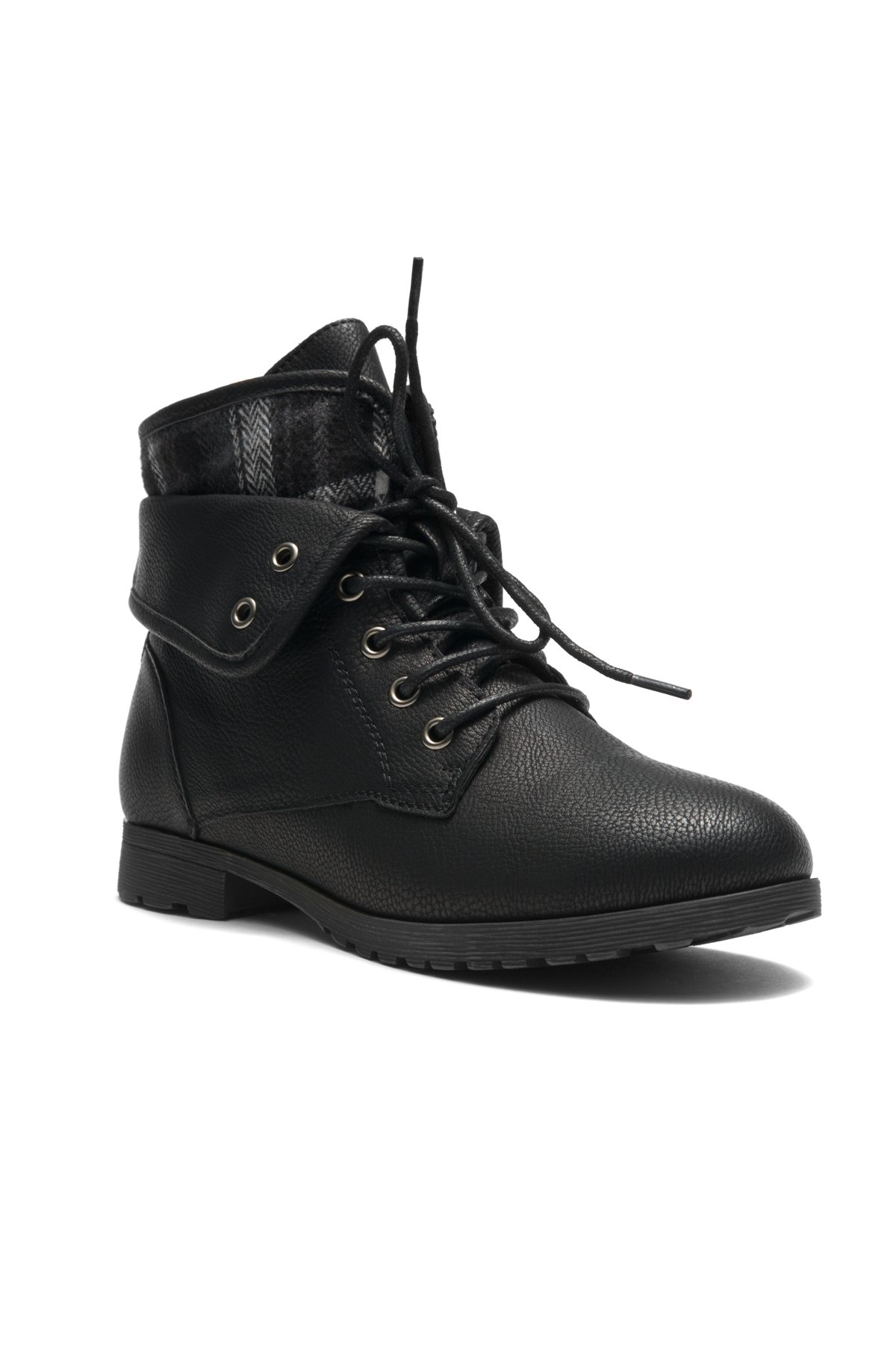 Herstyle Slgabrianna Expedition Women's Military Combat Boots Black 8