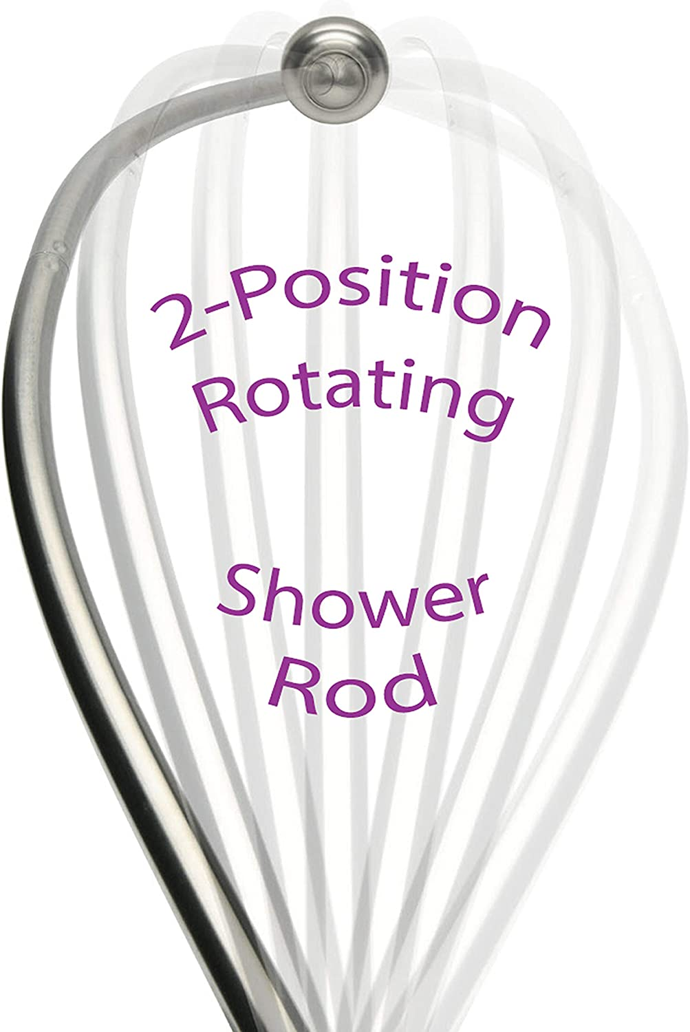 patented curved shower rod rotating for small bathrooms curved shower curtain rod brushed nickel shower curtain rod curved in and out