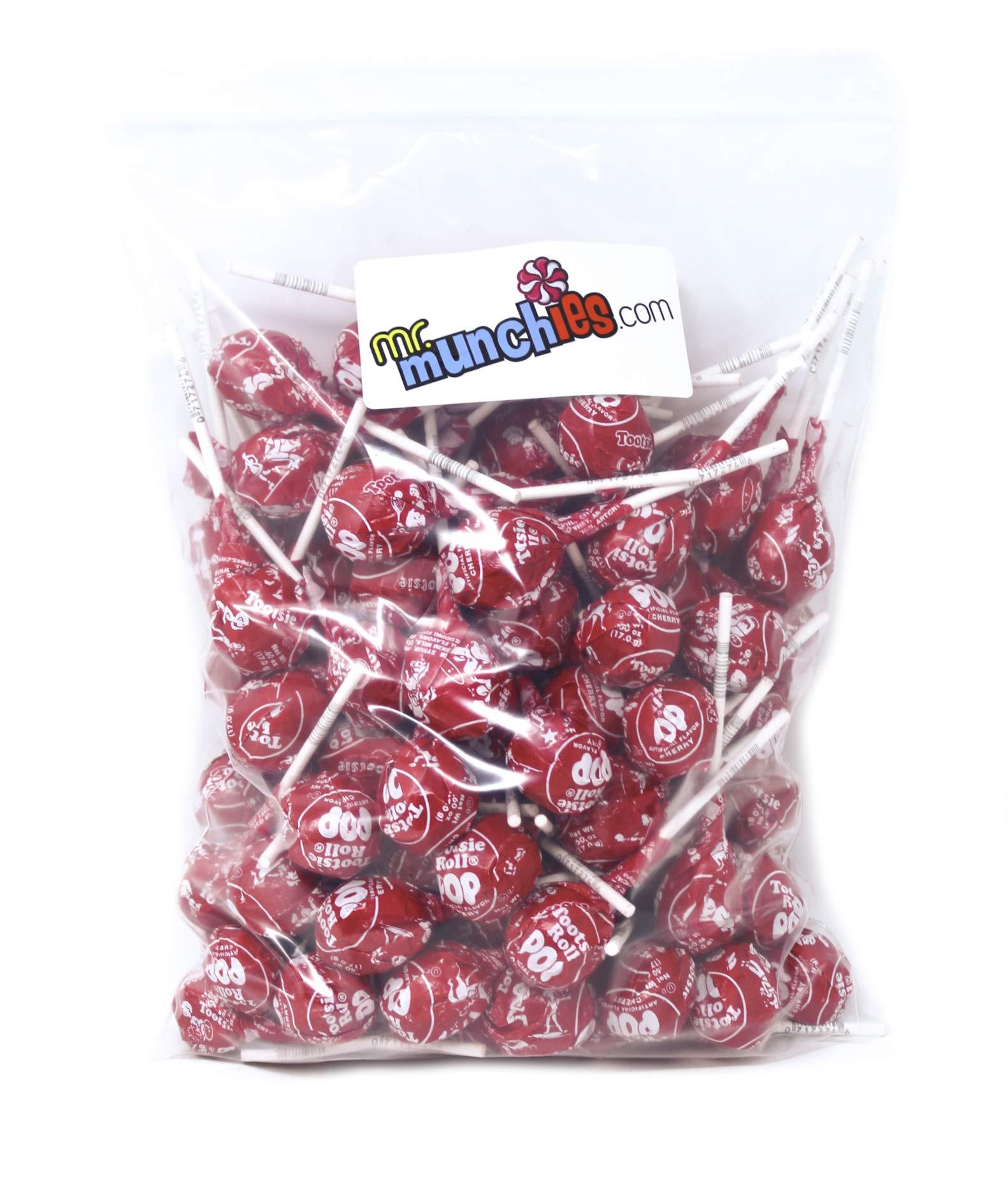 Amazon.com : Tootsie Pops, Red Raspberry Flavor, 100 ...  Red Tootsie Pop