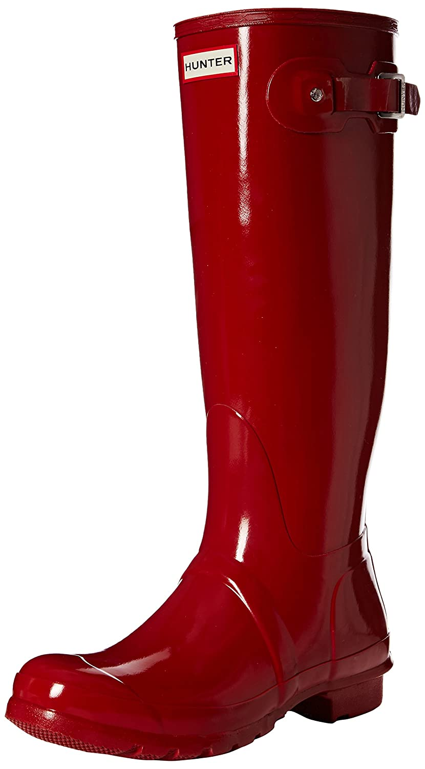 Military Red Hunter Women's Original Gloss Snow Boot