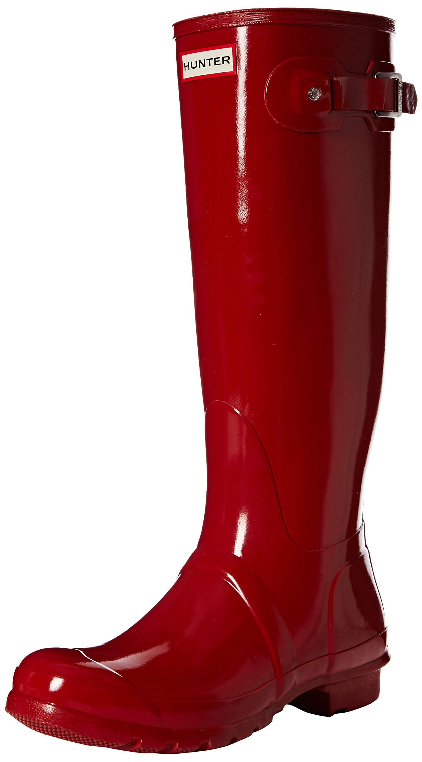 Hunter Women's Original Tall Rain Boot,Military Red,10 B(M) US