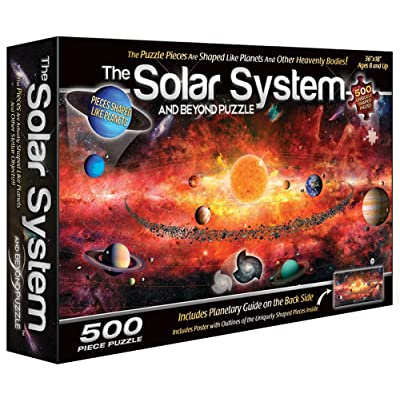 The Solar System Puzzle (500 Piece): Toys & Games