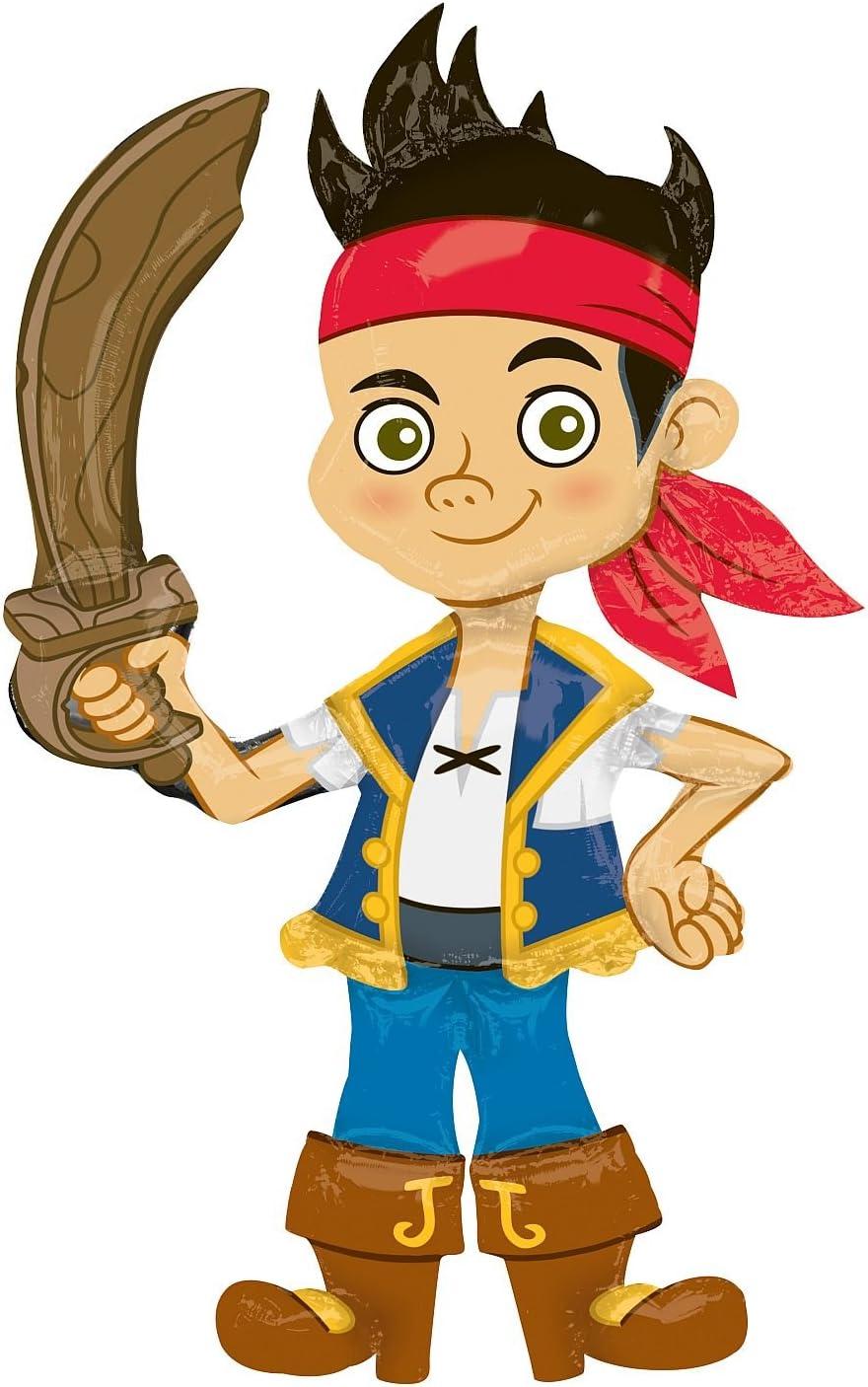 Amscan - Globos Jake y los Piratas de Nunca jamás (110055-01 ...