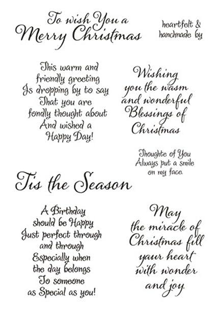 Christmas Sayings For Cards.Tis The Season Merry Christmas Sayings Sentiments Phrase