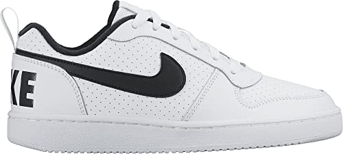 53aad91e47d Nike Court Borough Low (GS), Zapatos de Baloncesto Unisex Niños, Blanco (