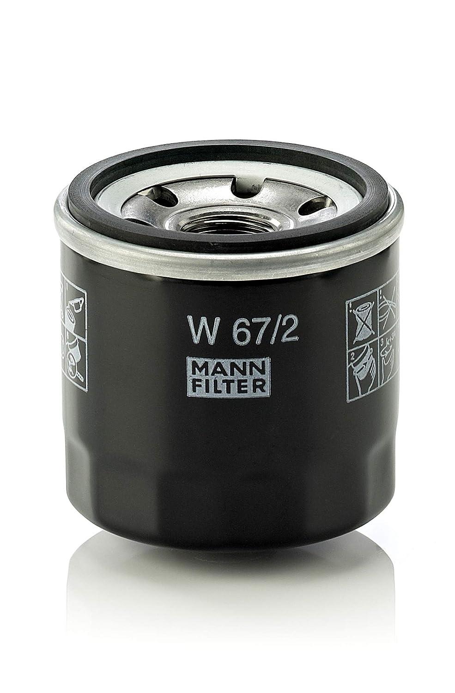 MANN-FILTER Original Filtro de Aceite W 67/2 - Para automóviles y vehículos de utilidad: Amazon.es: Coche y moto