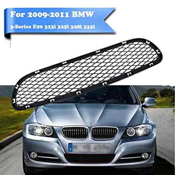 2011 Bmw 328i Accessories >> Kawayee For Bmw 3 Series E90 323i 325i 328i 335i 2009 20011 Front Bumper Lower Grille Center Grill Decorate Cover