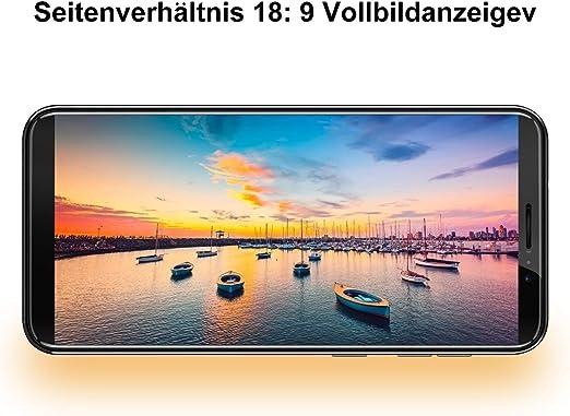 Hafury A7 Smartphone ohne Vertrag (Blau): Amazon.es: Electrónica