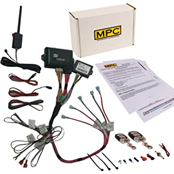 mpc remote start keyless entry kit fits select chevrolet and gmc vehicles 2002. Black Bedroom Furniture Sets. Home Design Ideas