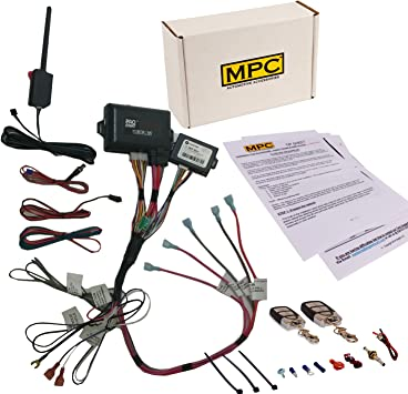 1963 gmc motor starter wiring amazon com mpc remote start   keyless entry kit fits select  mpc remote start   keyless entry kit