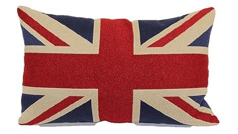 Amazon.com: Sugawin tela estilo British Vintage bandera de ...