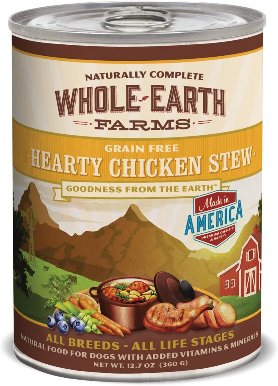 Whole Earth Chickn Stew12 12oz