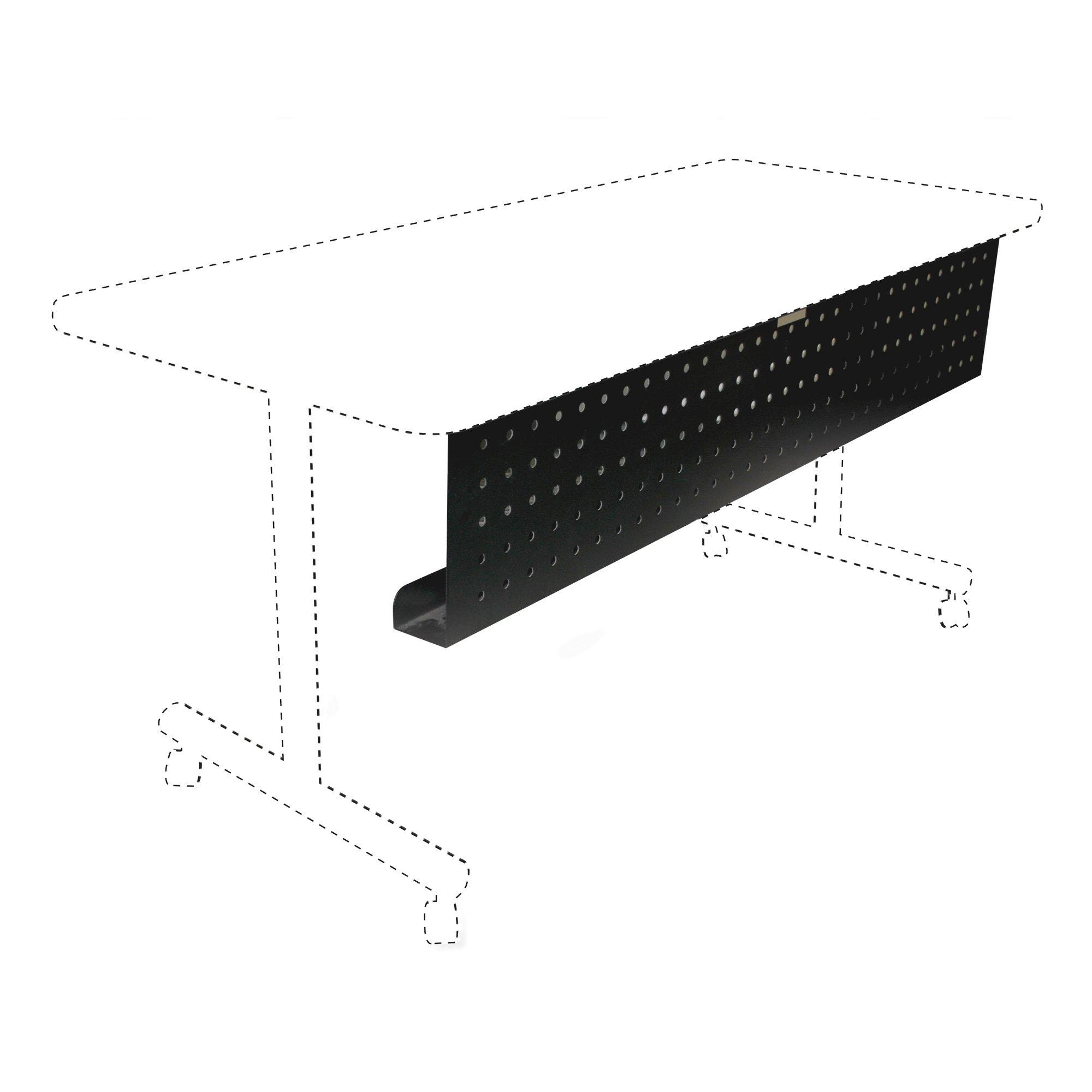 Lorell LLR60684 Rectangular Training Table Modesty Panel, 1.97'' Height X 18.9'' Width X 48.82'' Length