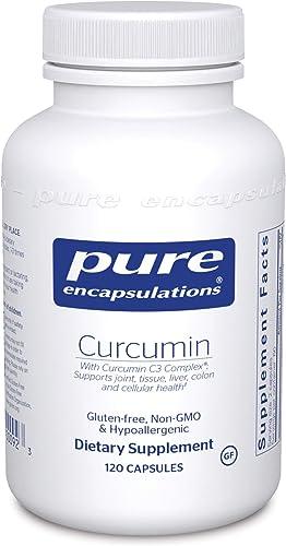Pure Encapsulations – Curcumin – Hypoallergenic Curcumin C3 Complex – 120 Capsules