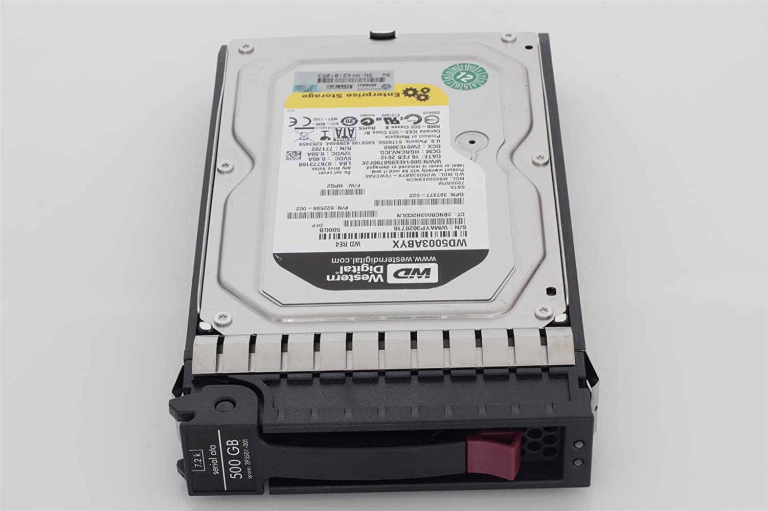 Sata 7200 RPM Hp 500 Gb 3.5 Internal Hard Drive
