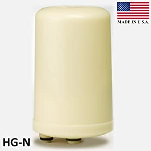 Replacement Water Ionizer Filter, Granular Activated Carbon, HG-N Type (New Model), Made in USA