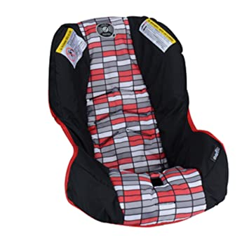 Replacement Car Seat Pad Cover Cushion For Evenflo Vive Travel System With Embrace Lennox Pattern