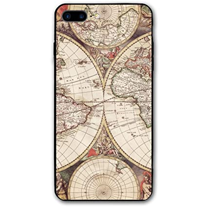 Amazoncom Pabcdef Old World Map Wallpaper Iphone 7 Plus
