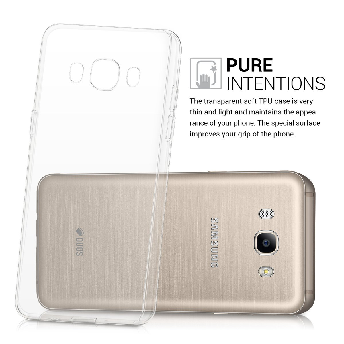 Kwmobile Crystal Case For Samsung Galaxy J5 2016 Duos Mercury Jelly Prime Clear Soft Flexible Tpu Silicone Protective Cover Transparent Cell Phones Accessories
