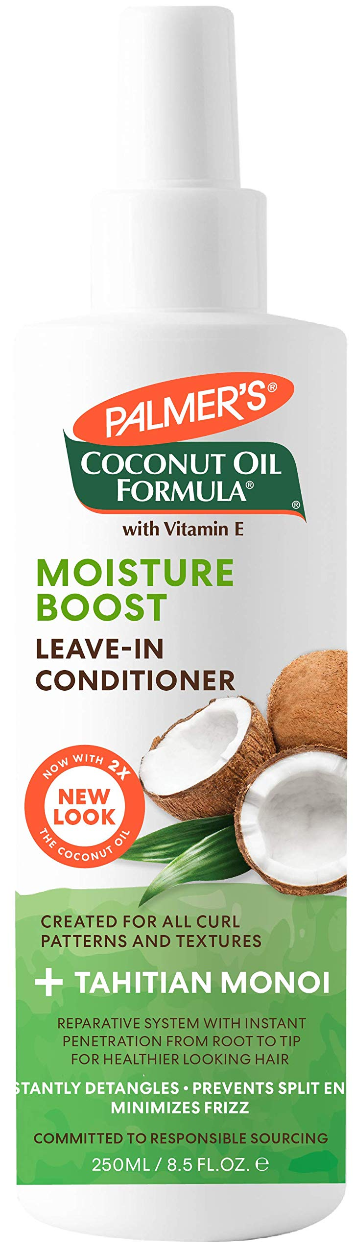 Palmer's Formula Leave-in Conditioner, Coconut Oil, 250 mL