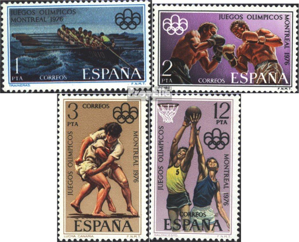 Amazon.com: Spain 2233-2236 (complete.issue.) 1976 Olympics ...
