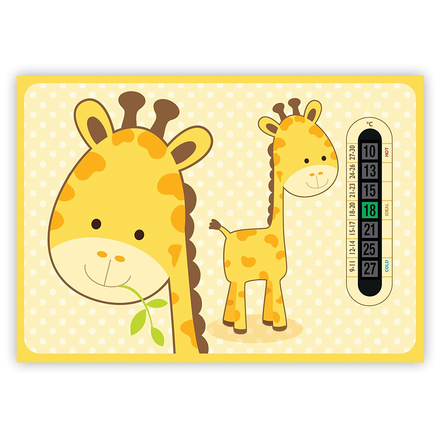 A5 Giraffe Nursery and Baby Room Thermometer