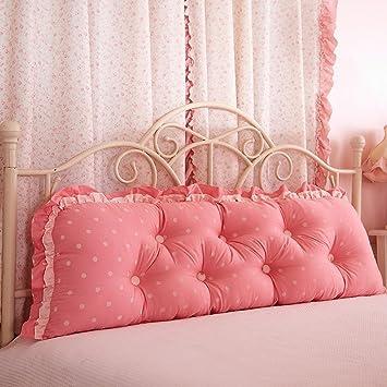 Amazon.com: Cojines de cama grandes – almohada larga de ...