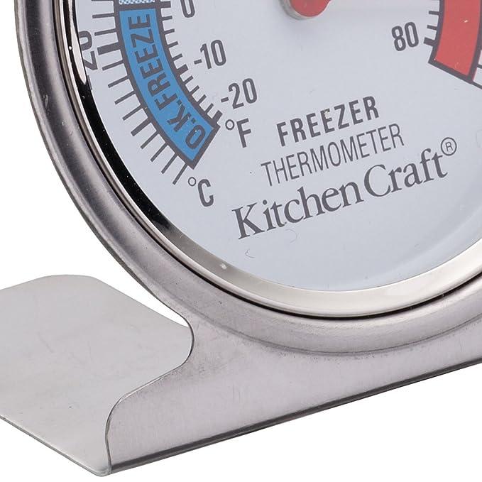 Kitchen Craft KCFRIDGETH - Termómetro para frigorífico (acero inoxidable): Amazon.es: Grandes electrodomésticos