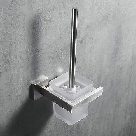 Kelelife Escobilla WC, Escobilla de Baño Pared, Cepillado ...