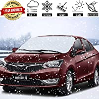 SuBleer Car Windshield Snow Cover for Ice and Snow Sun Shade UV Protection