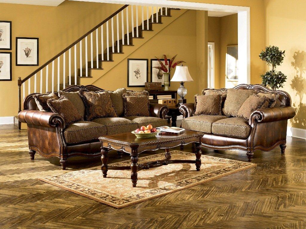 Amazon.com: Claremore Antique Living Room Set: Kitchen & Dining