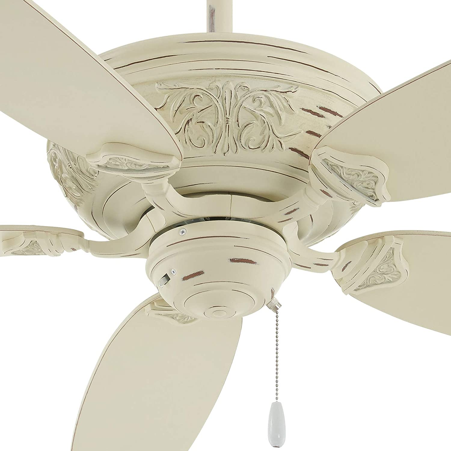 Minka Aire F659 Pbl Classica 54 Inch Pull Chain Ceiling Fan In Provencial Blanc Finish Amazon Com