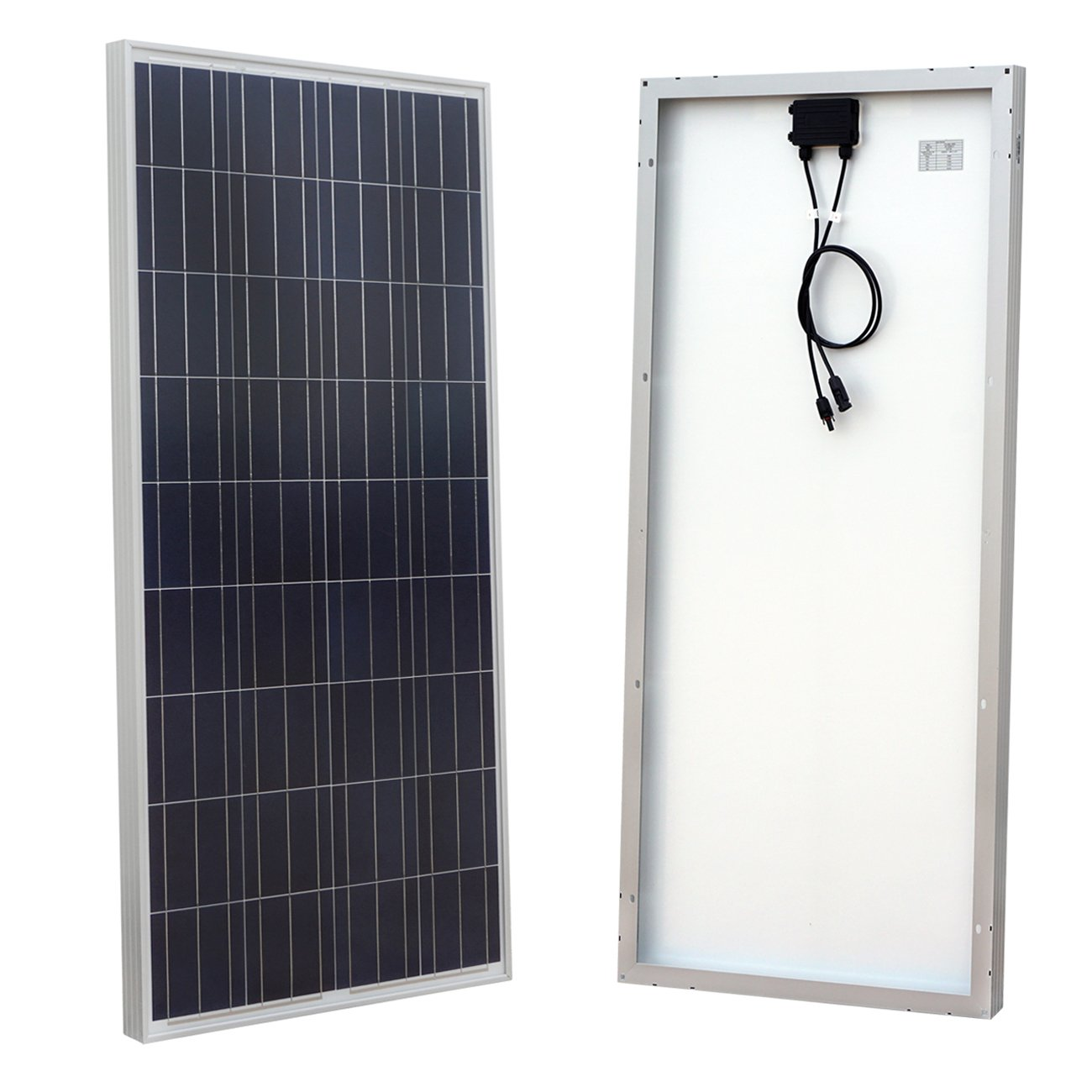 eco-worthy 160 Watt Polykristallin Photovoltaik PV Solar Panel Modul 12 V Akku laden