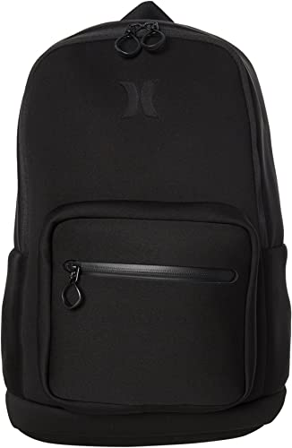 Hurley HU0008 Neoprene Backpack, Black – One Size