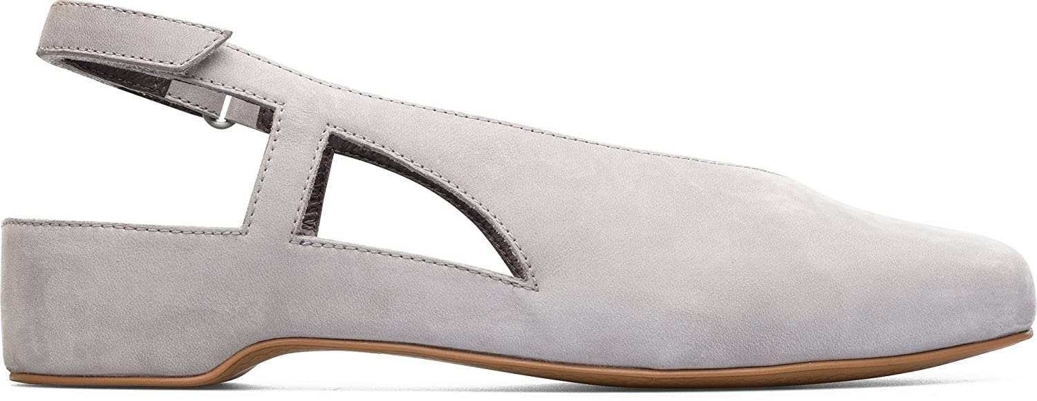 Camper Women's Serena K200617 Mary Jane Flat B0748ZTFHJ 40 B EU|Light Grey