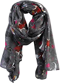 The Nightmare Before Christmas Collage Scarf Multicolour