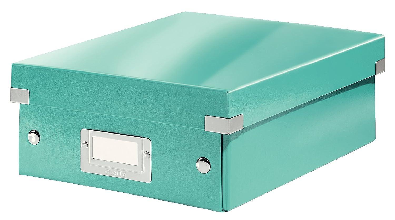 Leitz Caja organizadora pequeña, Turquesa, Click and Store, 60570051: Amazon.es: Oficina y papelería