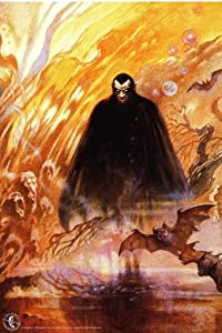 Count Dracula by Frank Frazetta Retro Horror Monster Magazine Spooky Scary Halloween Decorations Cool Wall Decor Art Print Poster 24x36