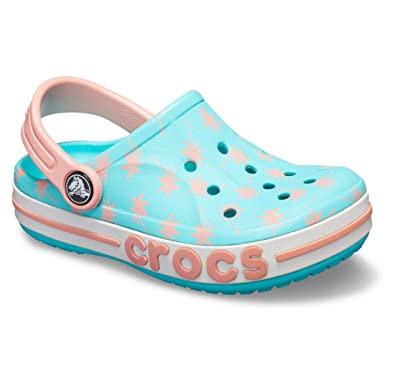 9e7738f0dd00 crocs Unisex Kid s Bayaband Seasonal Grphc CLG K Blue Clogs-C10 (205621-40M