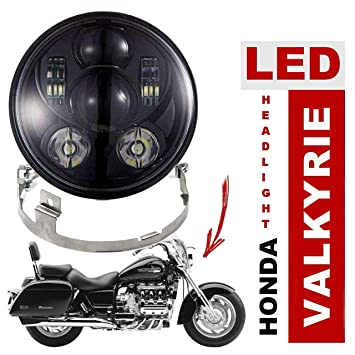amazon com eagle lights honda valkyrie projection led headlight kit Honda Valkyrie Engine amazon com eagle lights honda valkyrie projection led headlight kit (black) automotive