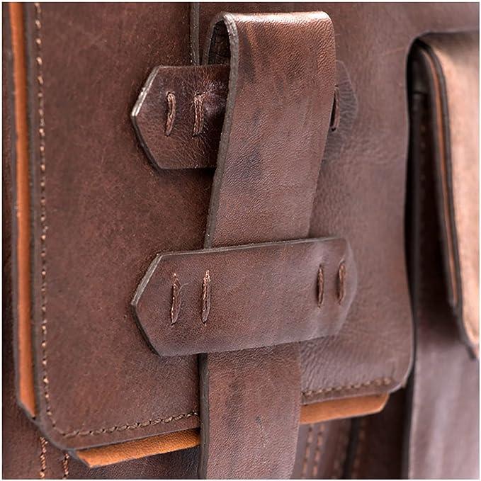 Amazon.com | VÉLEZ 12342 Men Genuine Leather Crossbody Bag | Bandolera De Cuero Coffee | Backpacks