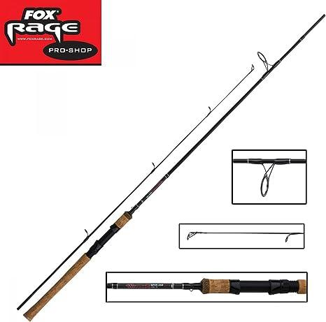 Fox Rage Warrior Cañas De Spinning - 2.10m 7 pies 15-50g: Amazon ...