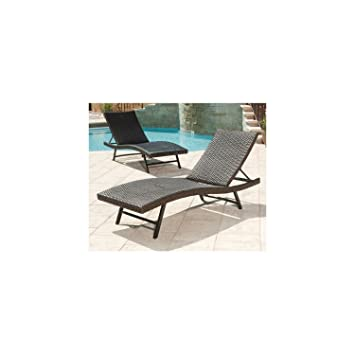 Amazoncom Members Mark Heritage Chaise Lounge Chair Patio