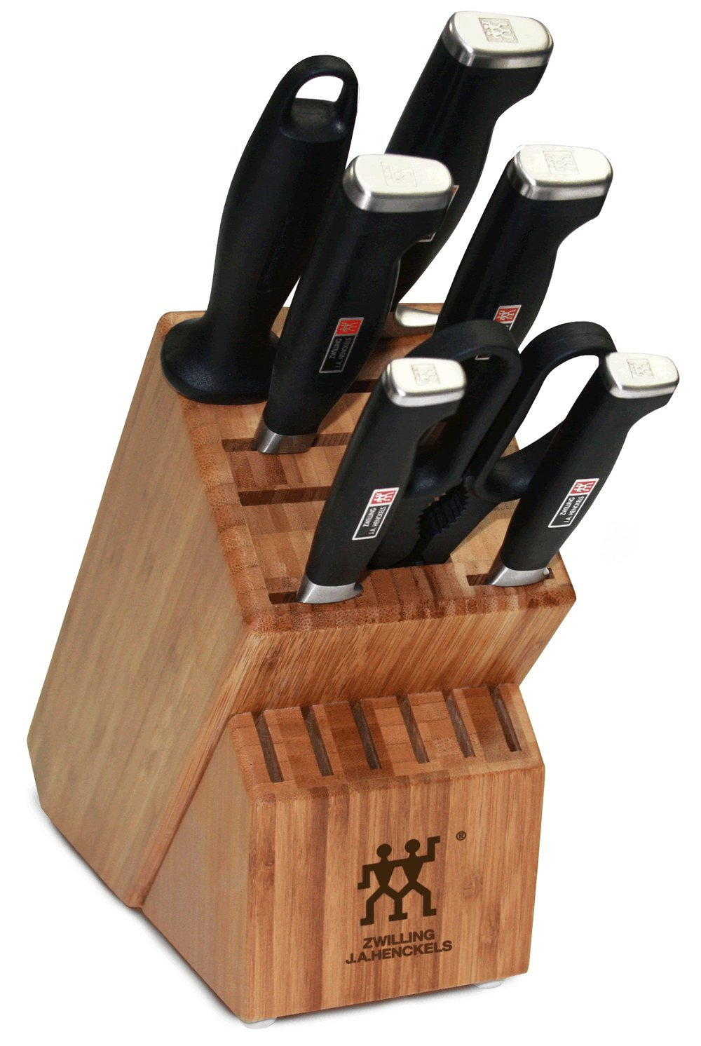Zwilling J.A. Henckels Twin Four Star II 8-Piece Knife Set with Block