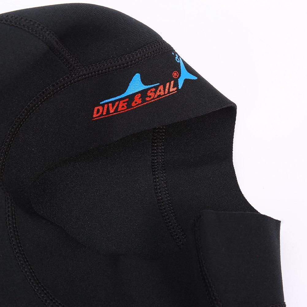 Gorro de Neopreno Sport Swim Scuba Snorkeling Wet Suit Hood Gorro de Buceo Surf Diving Cap