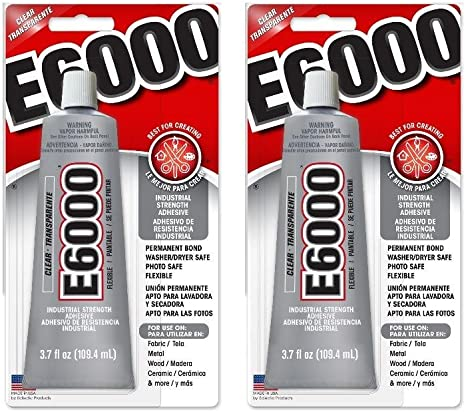 Amazon.com: Adhesivo para manualidades E6000. 3.7 onza ...